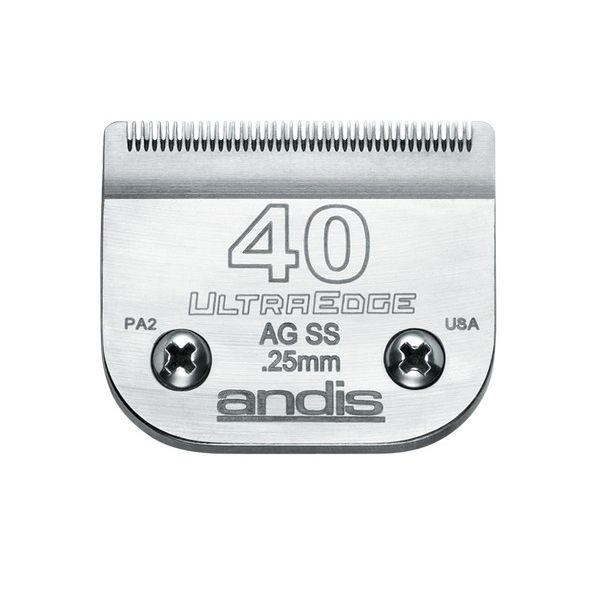 Ножевой блок Andis Ultra Edge № 40SS, 0,25 мм