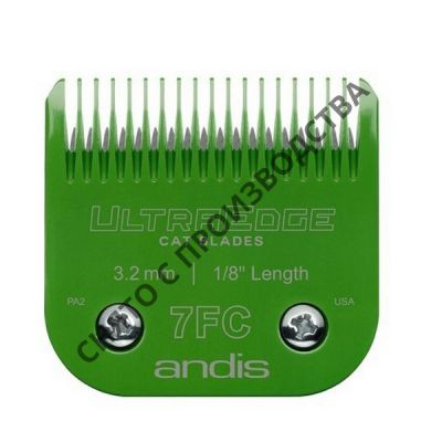 Ножевой блок Andis Ultra Edge CAT № 7FC, 3,2 мм