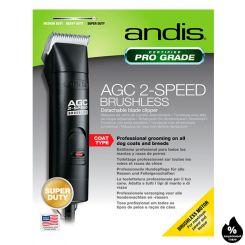 Andis Super AGC 2 Speed Brushless Black артикул AN 25140 фото, цена AN_19971-04, фото 4