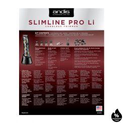 Триммер для стрижки Andis Slimline Pro Li D8 Nation Crown артикул AN 32685 фото, цена AN_21205-06, фото 6