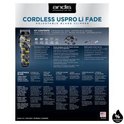 Машинка для стрижки Andis Codless US Pro Li Fade Nation Crown артикул AN 73100 фото, цена AN_21206-05, фото 5