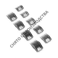 Набор насадок ANDIS для ножевых блоков, металлик, 9 шт. артикул AN mn9 12995 фото, цена AN_3744-02, фото 2
